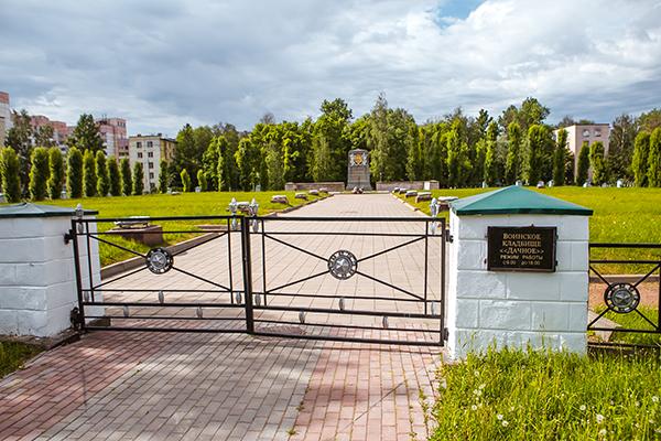 Дачное воинское кладбище